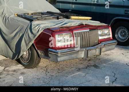 Key West Florida car - Stock Photo