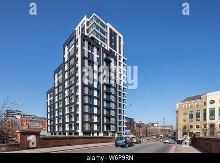 Verto apartments in Reading, Berkshire - Stock Photo