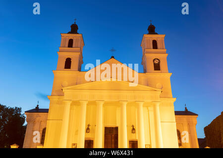 St. Alexander Church in Suwalki. Suwalki, Podlasie, Poland. - Stock Photo