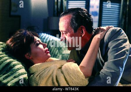 DAVID NIVEN, LESLIE CARON, GUNS OF DARKNESS, 1962 - Stock Photo