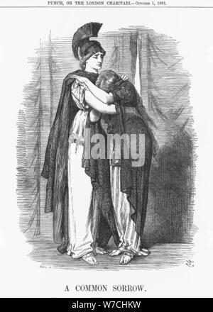 'A Common Sorrow', 1881. Artist: Joseph Swain - Stock Photo