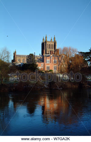 Hereford Cathedral - Stock Photo
