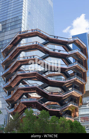 New York, NY - 05.15.2019: Hudson Yards new building in NYC - Stock Photo