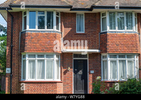 32 St Vincent's Road, Southend on Sea, Essex, UK. Home of Raie Jacobs and Samuel Gershon, great grandparents to Harry Potter actor Daniel Radcliffe - Stock Photo