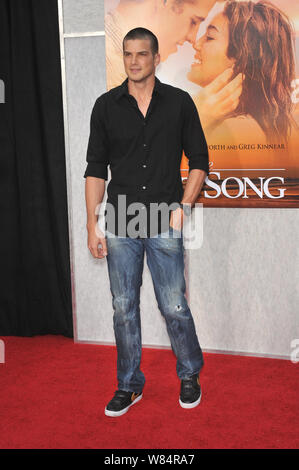 LOS ANGELES, CA. March 25, 2010: Rick Malambri at the world premiere of 'The Last Song' at the Arclight Theatre, Hollywood. © 2010 Paul Smith / Featureflash - Stock Photo