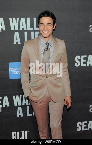 Zac Posen attends the 'Sea Wall / A Life' Broadway Opening Night at the Hudson Theater in New York. - Stock Photo