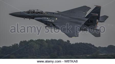 F-15 Strike Eagle - Stock Photo