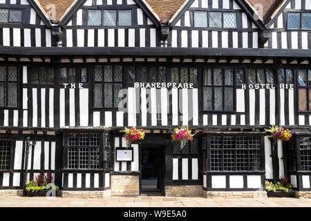 The Shakespeare hostelrie or Mercure Stratford upon Avon Shakespeare Hotel Stratford-upon-Avon Stratford upon Avon Warwickshire England UK GB Europe - Stock Photo