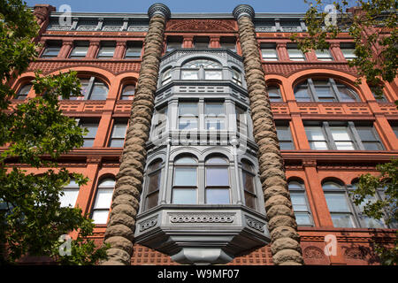 PIONEER BUILDING, SEATTLE - Stock Photo