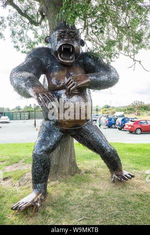 British Ironworks Centre and Shropshire Sculpture Park,off A5 road,Morda,Oswestry,Shropshire,England,Wales,Welsh,border,UK,GB,English,British, - Stock Photo