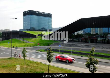 Katowice, Silesia, Slask, city, - Stock Photo