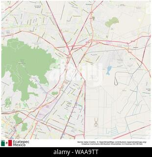 Ecatepec,mexico,north america - Stock Photo