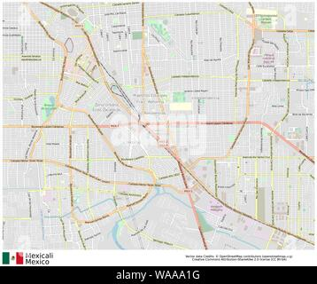 Mexicali,mexico,north america - Stock Photo