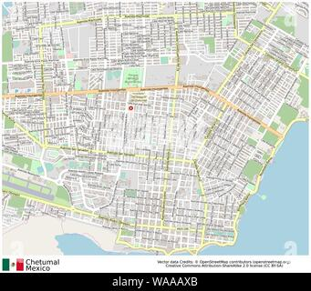 Chetumal,Mexico,north America, - Stock Photo