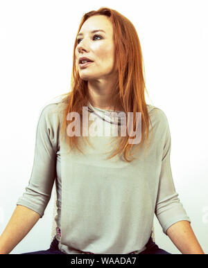American singer songwriter Tori Amos photographed in London August 2001. - Stock Photo
