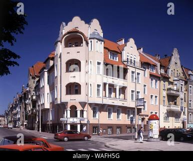 Olsztyn, biggest town of the Warmian-Masurian Province, North-Eastern Poland. contemporary architecture near the old town phot. Jan Morek/FORUM - Stock Photo
