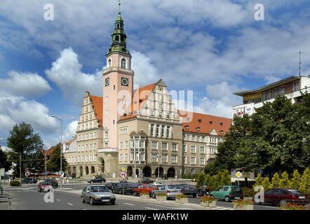Olsztyn, biggest town of the Warmian-Masurian Province, North-Eastern Poland. town hall 2004 phot. Jan Morek/FORUM - Stock Photo