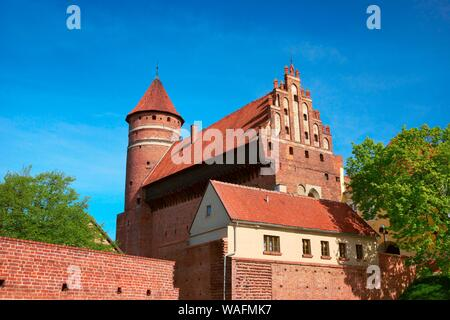 Olsztyn, biggest town of the Warmian-Masurian Province, North-Eastern Poland. Warmian Chapter castle 2009 phot. Jan Wlodarczyk/FORUM - Stock Photo