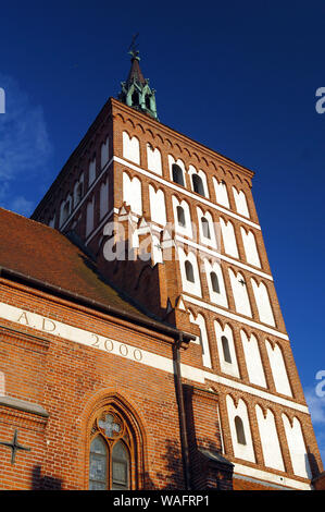 Olsztyn, biggest town of the Warmian-Masurian Province, North-Eastern Poland. co-cathedral basilica st Jacob 2008 phot. Tomasz Sternicki/FORUM - Stock Photo
