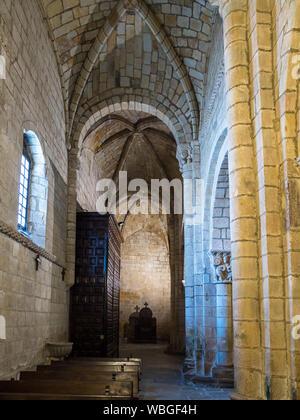Colegiata church of Santa Juliana in Santillana del Mar, Cantabria, Spain. - Stock Photo