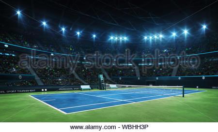 professional tennis sport 4k video background - Stock Photo
