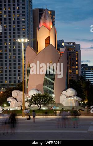 Thap Tram Huong tower, Nha Trang, Vietnam. - Stock Photo