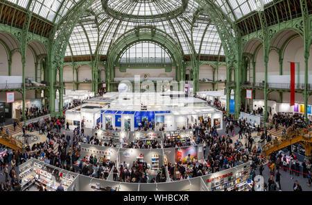 Impressionen vom Pressebesuch der Fotokunstmesse 'PARIS PHOTO' im Grand Palais. Paris, 10.11.2018 - Stock Photo