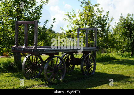 carriage, wooden, old, wood, transportation, vintage, transport, wheel, wagon, cart, rural, antique, travel, retro, background, country, farm, vehicle - Stock Photo