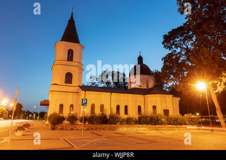 Sacred Heart of Jesus Church in Suwalki. Suwalki, Podlasie, Poland. - Stock Photo