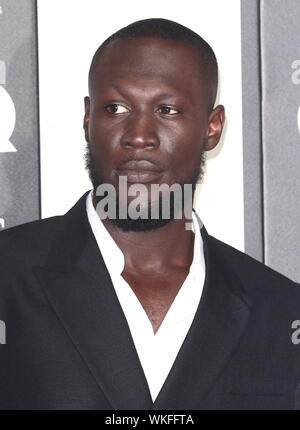 London, UK. 03rd Sep, 2019. Stormzy attends the GQ Men of the Year Awards held at the Tate Modern, Bankside in London. Credit: SOPA Images Limited/Alamy Live News - Stock Photo