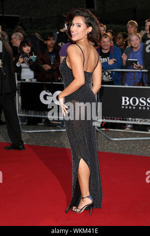 London, UK. 03rd Sep, 2019. Raye attending the GQ Men of the Year Awards 2019 at Tate Modern on September 3, 2019 in London, Great Britain Credit: Geisler-Fotopress GmbH/Alamy Live News - Stock Photo