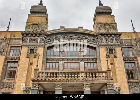 Akhundov Azerbaijan State Academic Opera and Ballet Theater, 1911, Baku, Azerbaijan - Stock Photo