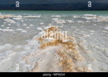 Lac Assal (Salt Lake), Djibouti - Stock Photo