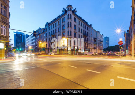 The building in the center of Katowice - Stock Photo