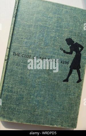 Still Life , Nancy Drew, Girl Detective ,Hardbound Book, USA - Stock Photo
