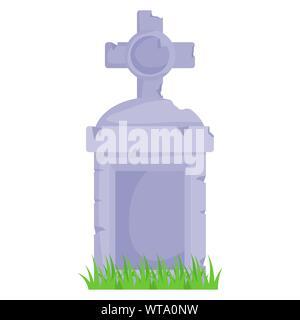 Halloween grave vector design - Stock Photo