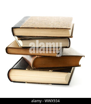 Books stacked. - Stock Photo