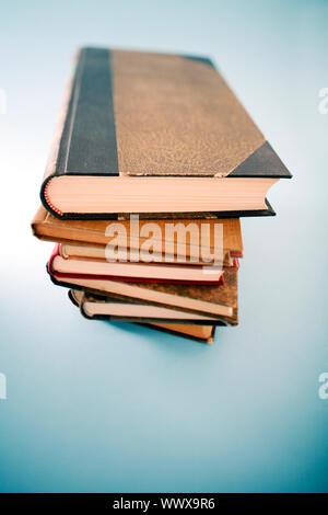 Book pile. - Stock Photo
