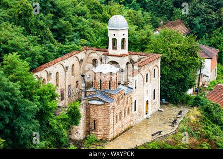 Ruins of Church of Holy Saviour in Prizren city, Kosovo - Stock Photo