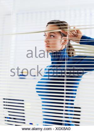woman office look - Stock Photo