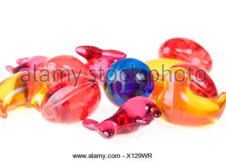 Bath beads for children - Stock Photo