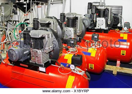 Air compressors - Stock Photo
