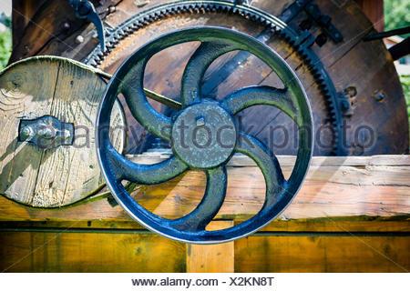 cast iron valve - Stock Photo