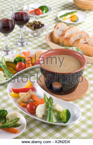 Bagna Cauda - Stock Photo
