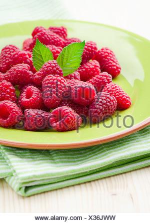 Raspberries - Stock Photo