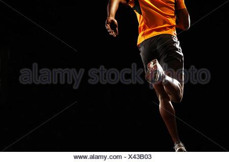Man running - Stock Photo
