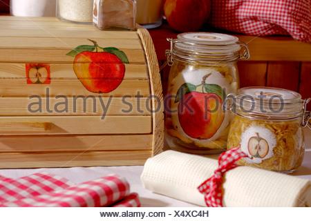 Apple Decoupage - Stock Photo