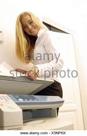 young woman at office - Stock Photo
