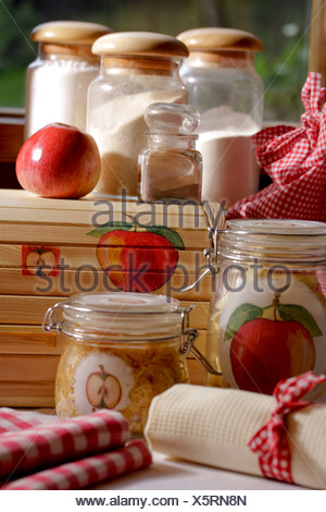 Apple Decoupage - Stock Photo
