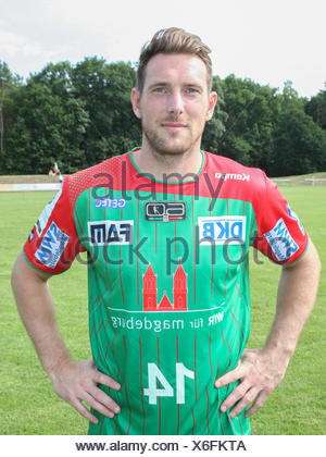 Jacob Bagersted (SC Magdeburg) - Stock Photo